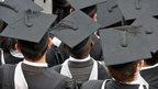 University students on Graduation Day