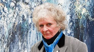 Maggi Hambling at the National Gallery
