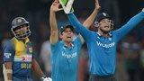 England dismiss Kumar Sangakkara