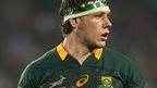 South Africa flanker Marcell Cotzee