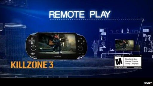 Sony advert