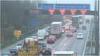 M1 Leicestershire crash