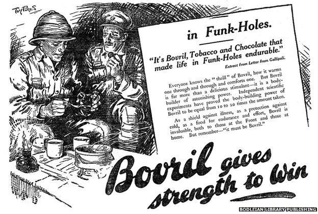 Bovril advert