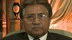 Former Pakistani president Pervez Musharraf