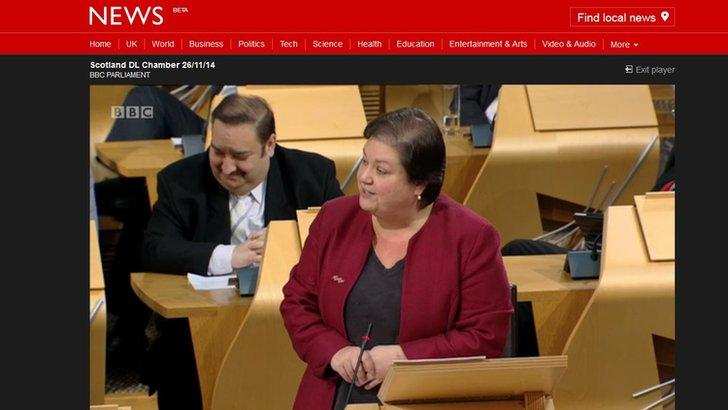 Labour's Jackie Baillie