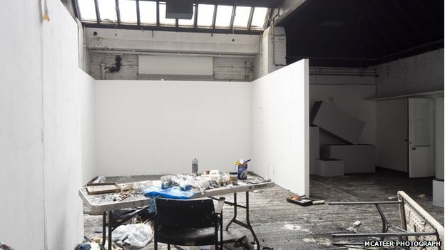 Glasgow School of Art studio
