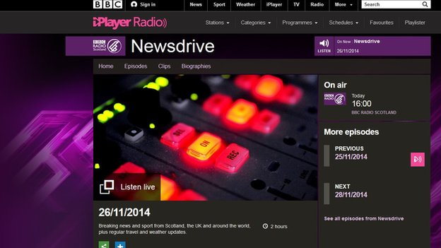 BBC Scotland's Newsdrive