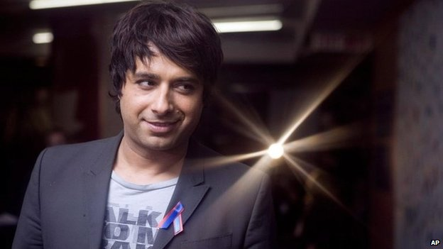 This Jan. 22, 2010 photo shows Jian Ghomeshi.