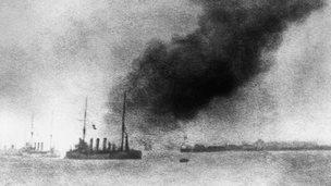 HMS Bulwark  1914