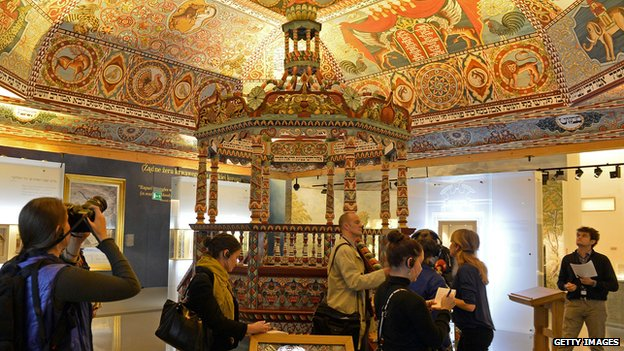 Inside the Museum of Polish Jews in Warsaw