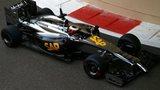 McLaren testing in Abu Dhabi
