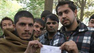 Afghan interpeters