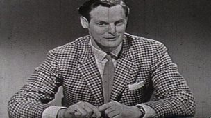 Arthur Montford wearing one of his trademark jackets in the 1960s