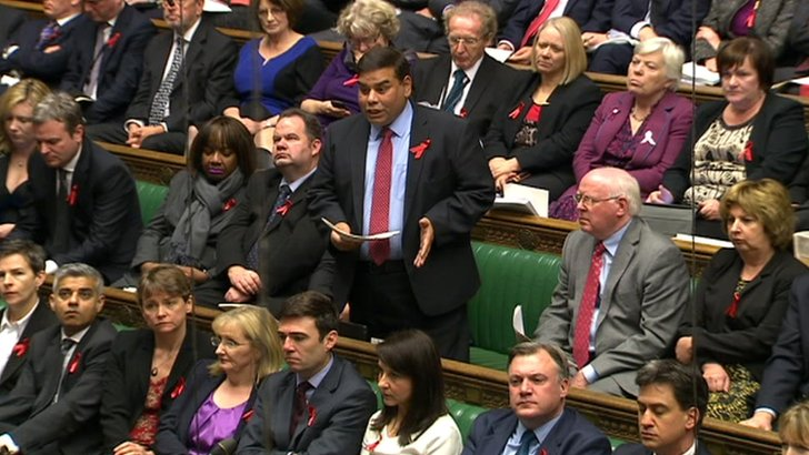 Speaking in the House of Commons, Khalid Mahmood, the Labour MP for Perry Barr