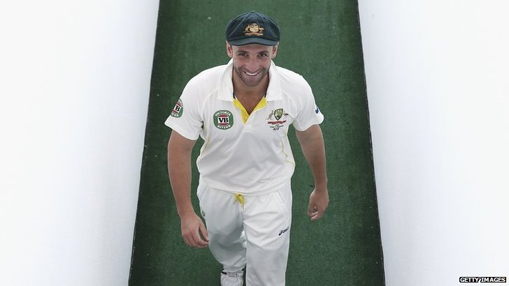 Cricketer Phil Hughes