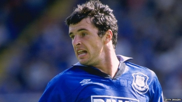 Gary Speed when he played for Everton