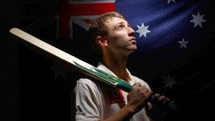 Australian cricketer Phillip Hughes (file pic Aug 2010)