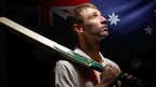 Australian cricketer Phillip Hughes (file pic Aug 2010)
