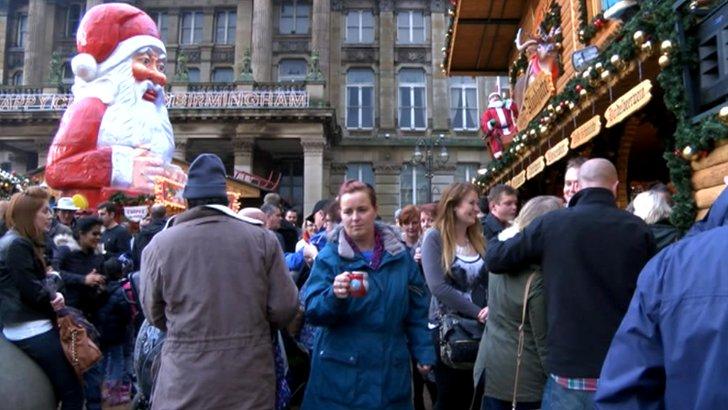 Birmingham Christmas Market, November 2014