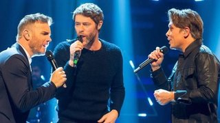 BBC News - Take That choose Google over Spotify