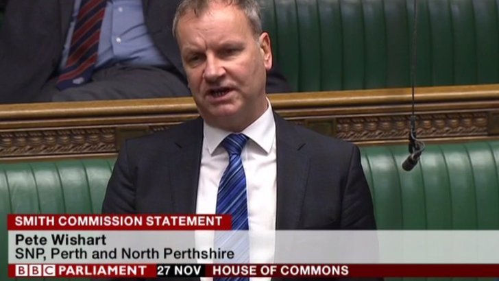 Pete Wishart in statement debate