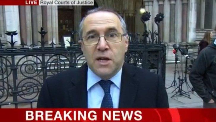 BBC's Clive Coleman