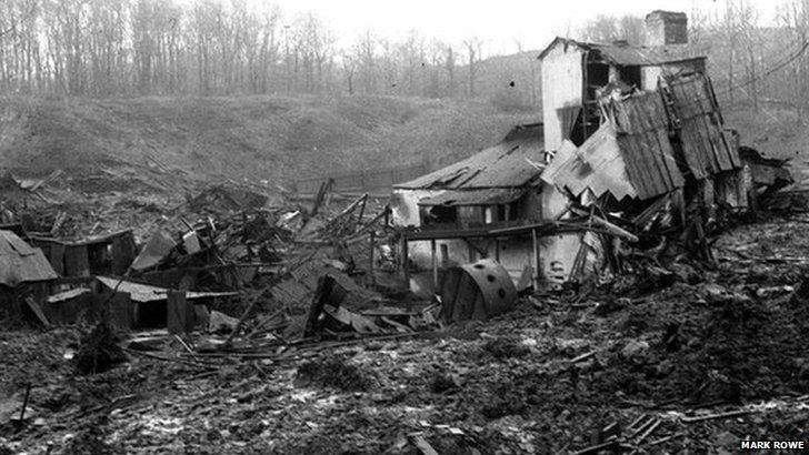Explosion at RAF Fauld