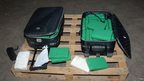 Suitcases where drugs were found