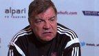 VIDEO: Allardyce laments lack of 'cutting edge'