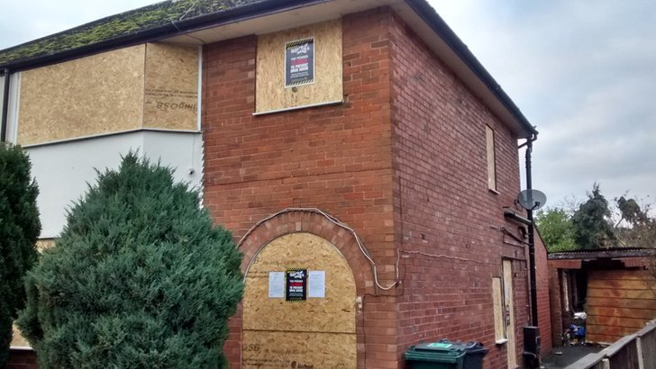 Crack house closed down