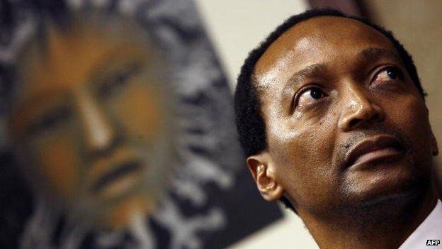 Patrice Motsepe, Johannesburg (7 May 2008)