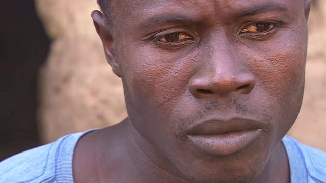 Father of 'patient zero' Etienne Ouamouno