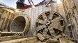 Crossrail tunnel boring machine