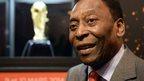 Brazil legend Pele 'doing fine'