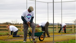 Cricket volunteers