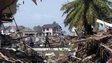 Scene of devastation in Banda Aceh, Indonesia