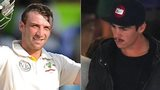 The late Phil Hughes and bowler Sean Abbott