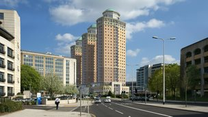 Proposals for three tower blocks in Reading