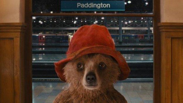 Paddington Bear movie image