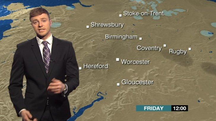 BBC Weather's Charlie Slater