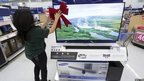 Many Wal-Mart staff have been busy getting stores ready for the shopping frenzy on Friday, 28 November