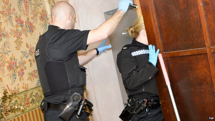 Police raid on Athena Guest House
