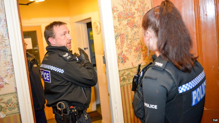 Police raid on Cowley Road guest house