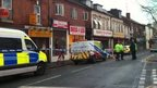 Horsefair, Kidderminster, remains closed after the fire