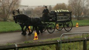 Blake Carins' funeral