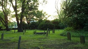 Trinity Burial Ground in Hull
