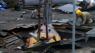 BBC News - AAIB ready to publish report on Clutha helicopter crash