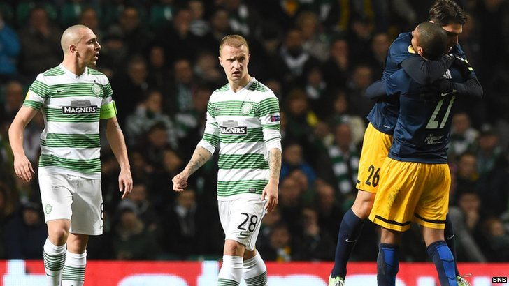Celtic lost 3-1 at home to Salzburg