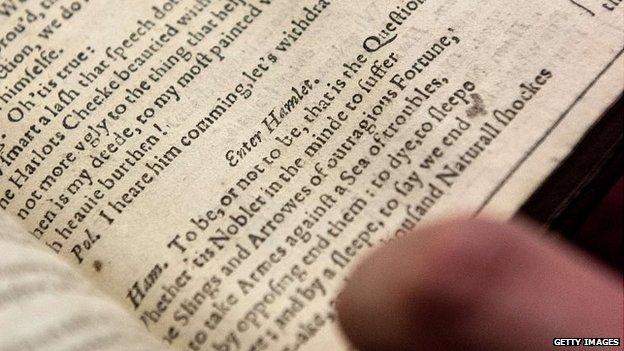 Hamlet in Shakespeare's First Folio