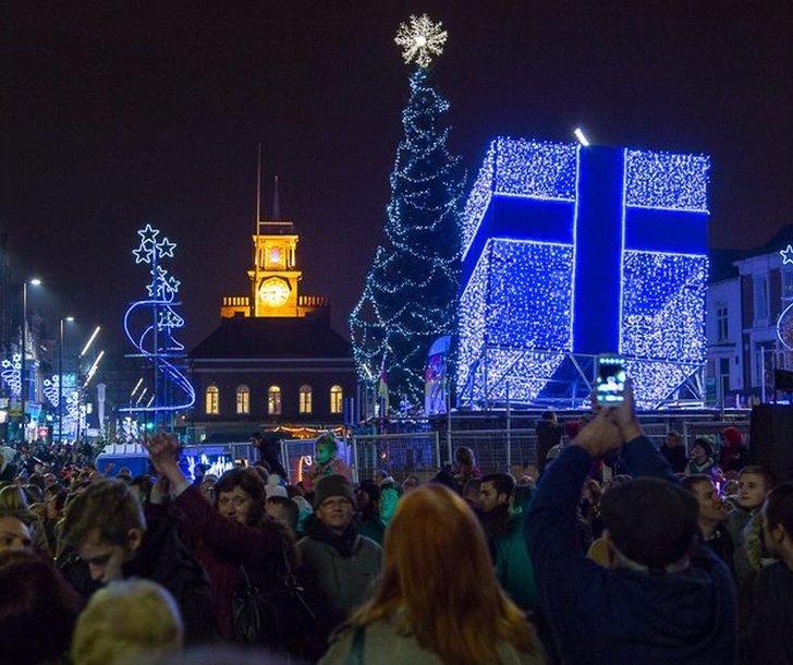 Lights at Stockton